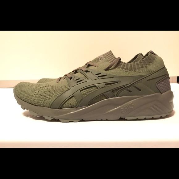 Asics Asics Asics Chaussures Gel Kayano Trainer Knit Agave Olive Vert 13 Poshmark f0f0c0